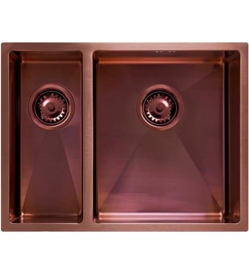 Кухонная мойка Seaman Eco Marino SME-575DL Amethyst (PVD)