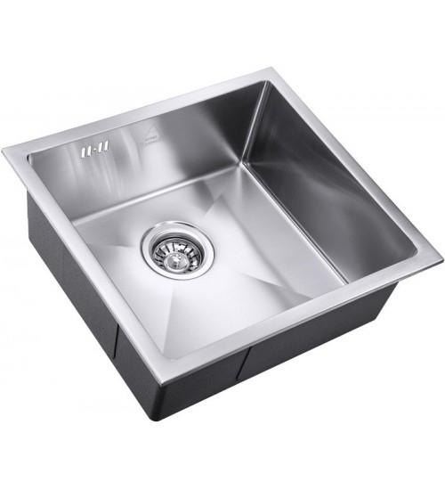 Кухонная мойка Zorg SH R 4844 Elipso Матовая сталь