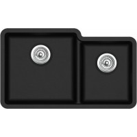 Кухонная мойка Aquasanita Arca SQA 230 L Black metallic