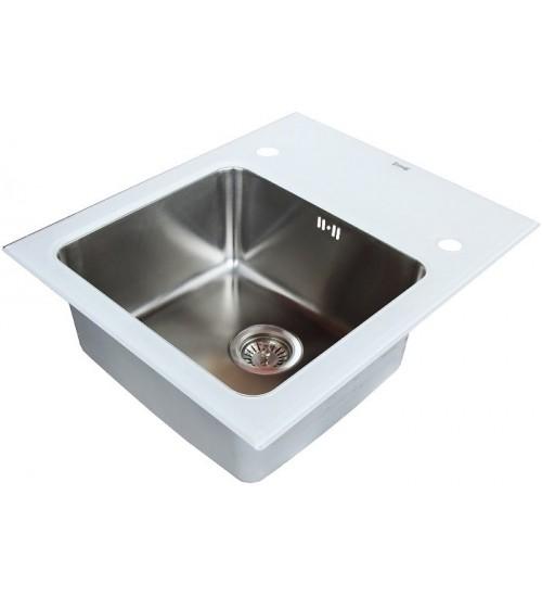 Кухонная мойка Zorg GL 5061 White