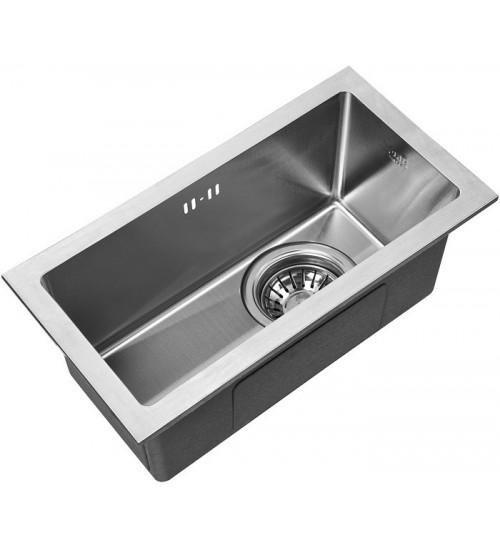 Кухонная мойка Zorg RX 2344 Матовая сталь