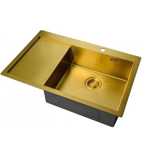 Кухонная мойка Zorg ZL R 780510-R Bronze