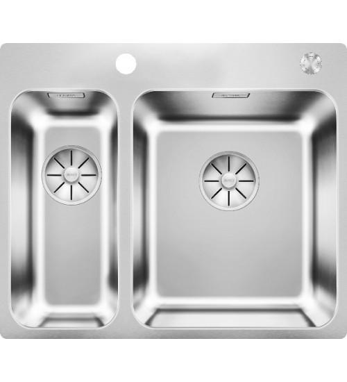 Кухонная мойка Blanco Solis 340/180-IF/A Нержавеющая сталь полированная (чаша справа)