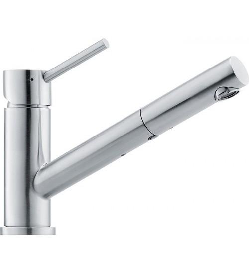 Кухонный смеситель Franke Taros Нержавеющая сталь (Выдвижной душ)
