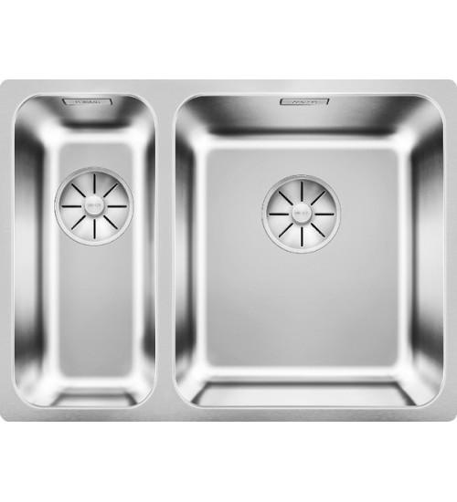 Кухонная мойка Blanco Solis 340/180-IF Нержавеющая сталь полированная (чаша справа)