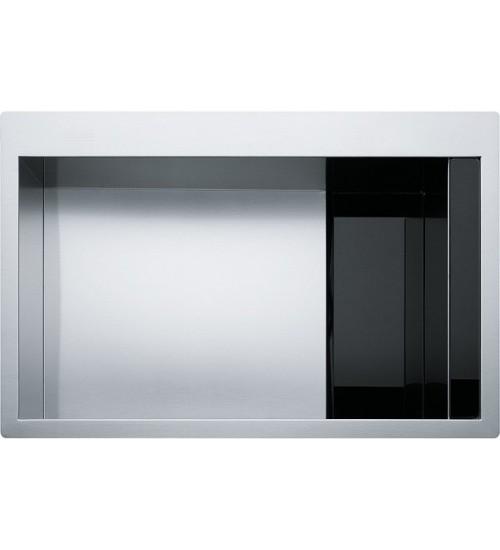 Кухонная мойка Franke Crystal CLV 210 Черное стекло