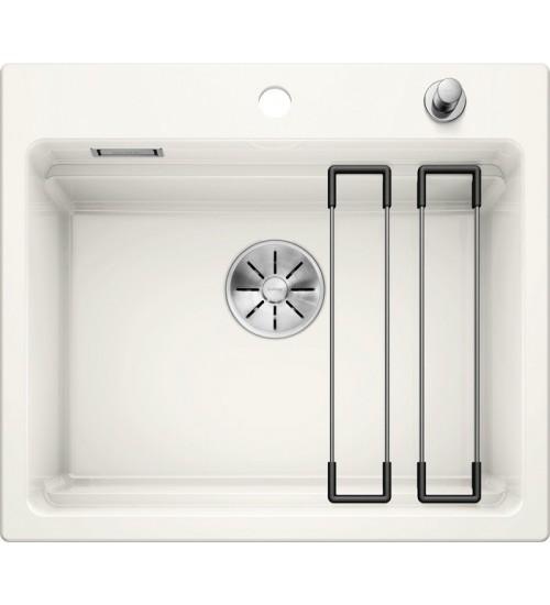 Кухонная мойка Blanco Etagon 6 Глянцевый белый (керамика)