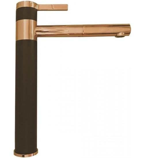 Кухонный смеситель Alveus Zina Monarch Black/Copper 1136510