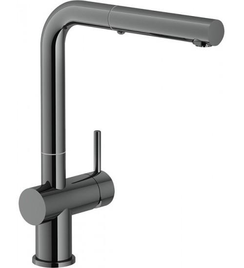 Кухонный смеситель Franke Active Plus Черный хром (Выдвижной душ)