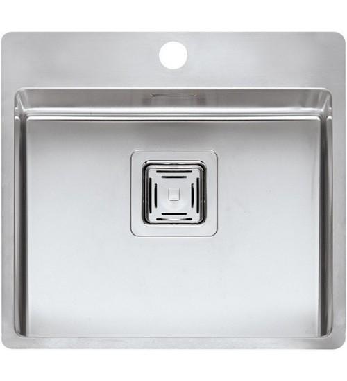 Кухонная мойка Reginox Texas 50x40 Tapwing L Lux Матовая нержавеющая сталь