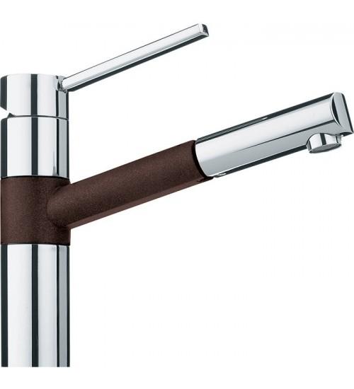 Кухонный смеситель Franke Landy Шоколад (Выдвижной душ)