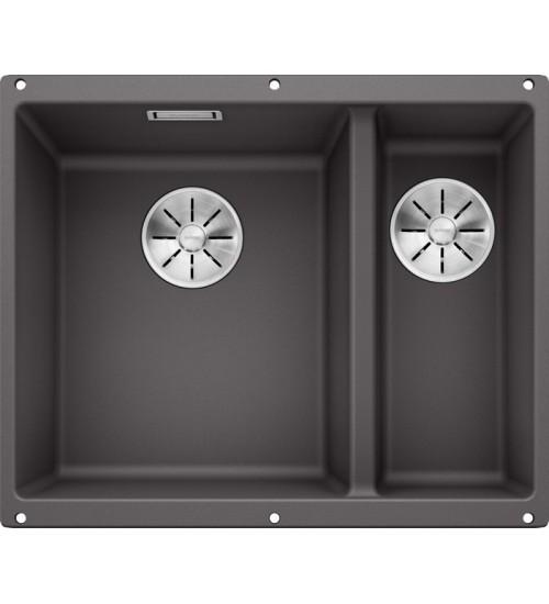 Кухонная мойка Blanco Subline 340/160-U L Темная скала