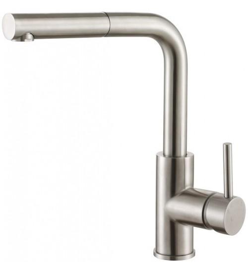 Кухонный смеситель Zorg Steel Hammer SH 6003 Нержавеющая сталь