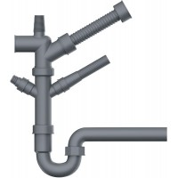 Отводная арматура для измельчителя Omoikiri NA-01