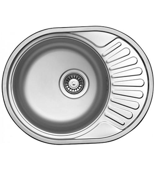 Кухонная мойка Florentina Форум 577.447 Нержавеющая сталь декор