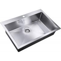 Кухонная мойка Zorg SH R 7551 Divon Матовая сталь