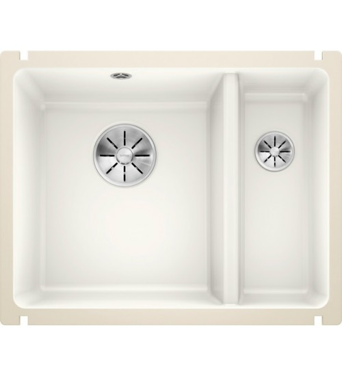 Кухонная мойка Blanco Subline 350/150-U Глянцевый белый (керамика)