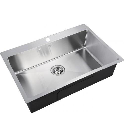 Кухонная мойка Zorg R 7551 Матовая сталь