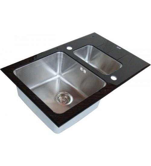 Кухонная мойка Zorg GL 5078-2 Black