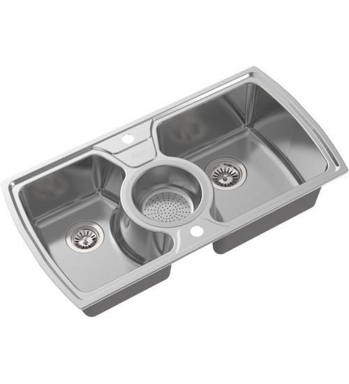 Кухонная мойка Oulin OL-321 Нержавеющая сталь
