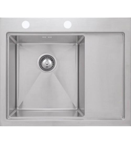 Кухонная мойка Seaman Eco Marino SMB-6352RSK, вентиль-автомат, коландер SSA-A100