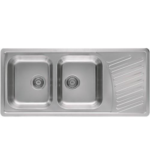 Кухонная мойка Alveus Elegant 70 Нержавеющая сталь 1009386