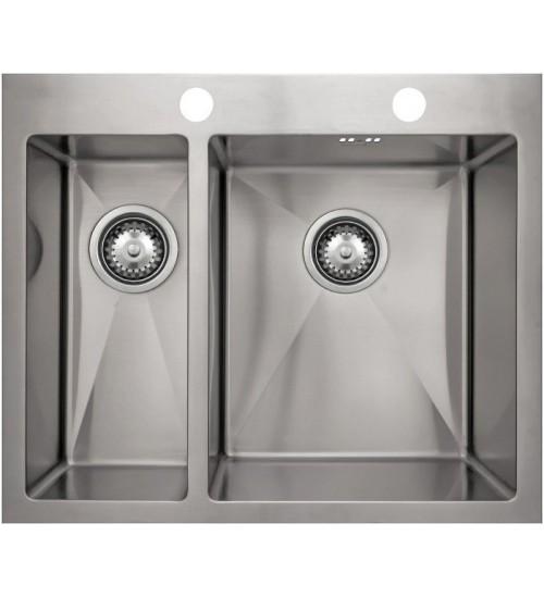 Кухонная мойка Seaman Eco Marino SMB-6151DLS, вентиль-автомат