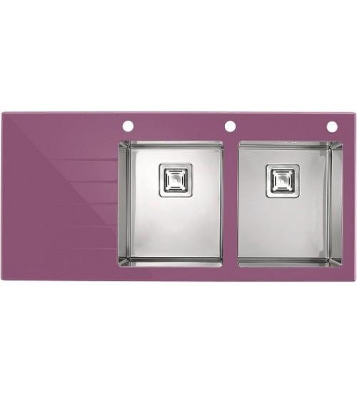 Мойка Alveus Crystalix 30 R Фиолетовый