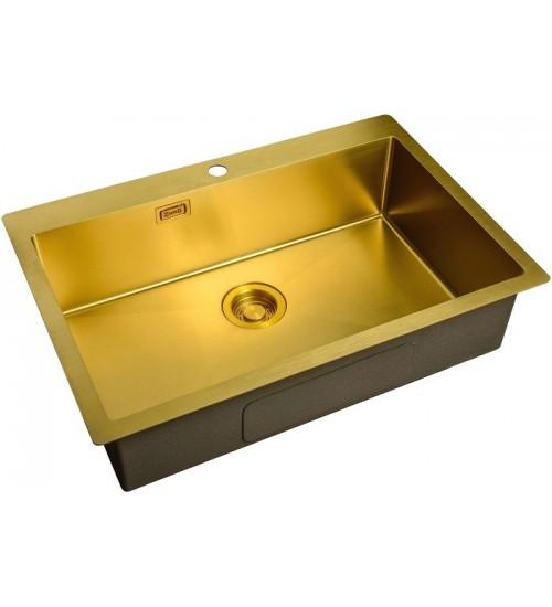 Кухонная мойка Zorg ZL R 750510 Bronze
