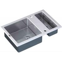 Кухонная мойка Zorg GL 8051-2 White
