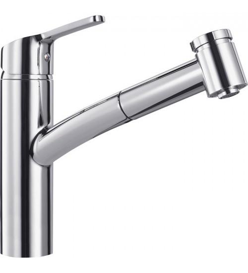 Кухонный смеситель Franke Smart Хром (Выдвижной душ)