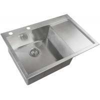 Кухонная мойка Zorg X 7851 L Матовая сталь
