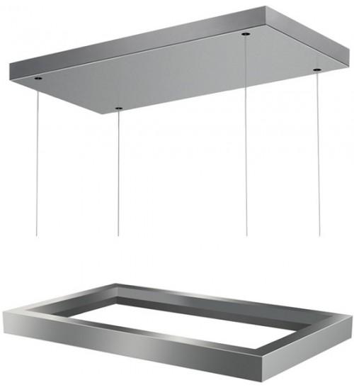 Декоративная рамка для модели Faber Thea (потолочная версия, нержавеющая сталь)