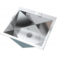 Кухонная мойка Zorg ZX 5451 Матовая сталь