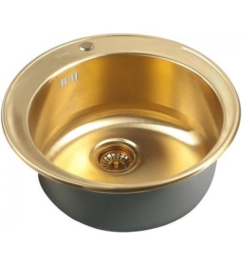 Кухонная мойка Zorg SZR 510/205 Bronze
