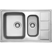 Кухонная мойка Florentina Профи 780.500.1К Нержавеющая сталь декор