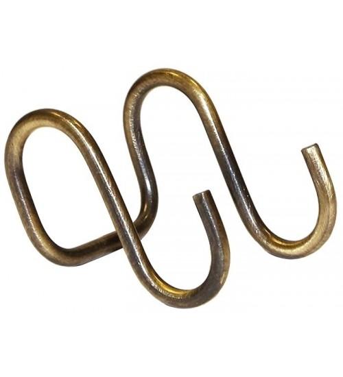 Крючок двойной Lemi 3410B старая бронза