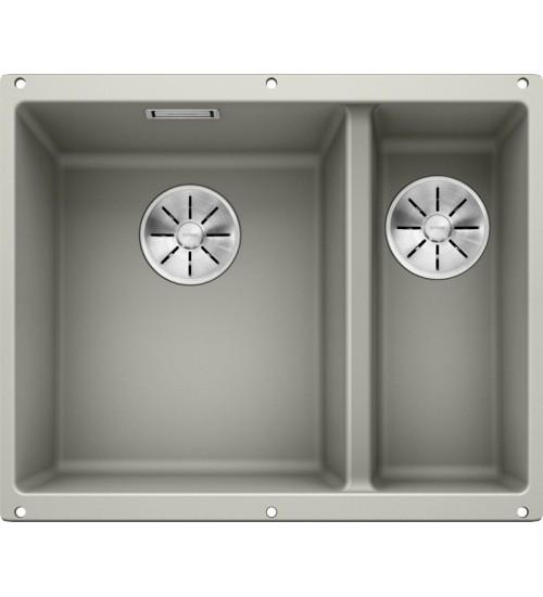 Кухонная мойка Blanco Subline 340/160-U L Жемчужный