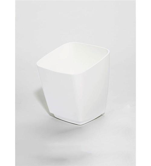 Стакан пластиковый глубокий Kessebohmer 00 8910 9003, 135х135х155 мм, белый