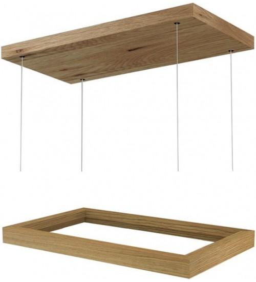 Декоративная рамка для модели Faber Thea (потолочная версия, дерево)