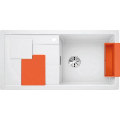 Мойка Blanco Sity XL 6 S Белый/Апельсин
