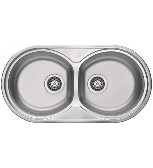 Кухонная мойка Alveus Form 50 Нержавеющая сталь декор 1060039