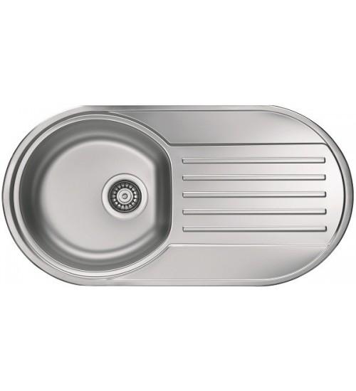 Кухонная мойка Alveus Form 40 Нержавеющая сталь декор 1060038