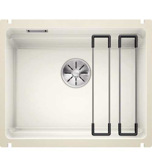 Кухонная мойка Blanco Etagon 500-U Глянцевый белый (керамика)