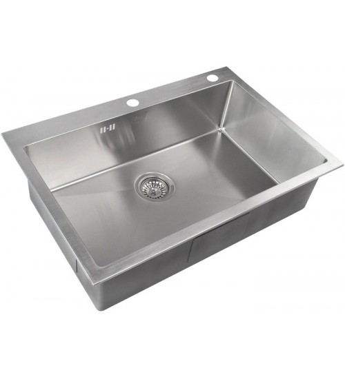 Кухонная мойка Zorg RX 7551 Матовая сталь