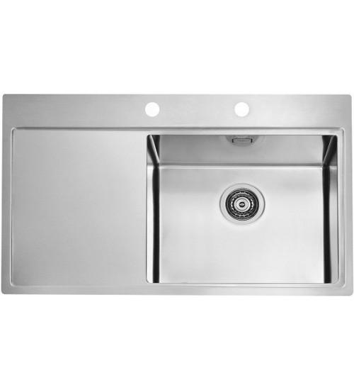 Кухонная мойка Alveus Pure 50 R Нержавеющая сталь 1103653