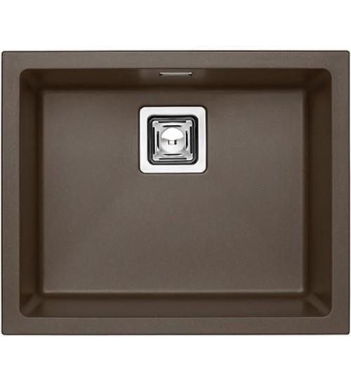 Кухонная мойка Alveus Quadrix Granital+ 50 Chocolate 1108036