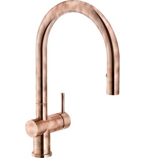Кухонный смеситель Franke Active Neo Античная медь (Выдвижной душ)