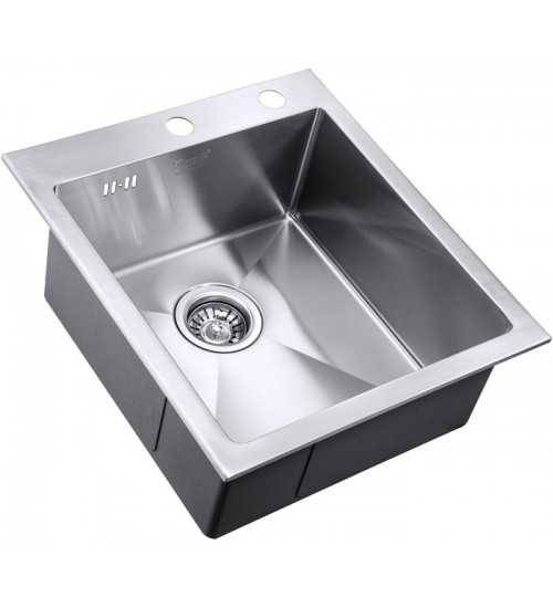 Кухонная мойка Zorg RX 4551 Матовая сталь