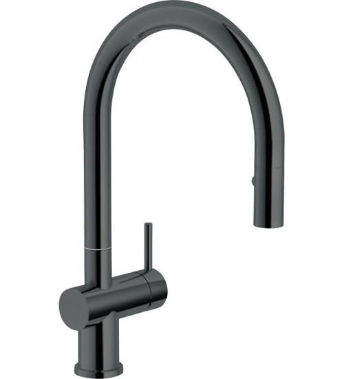 Кухонный смеситель Franke Active Neo Вороненая сталь (Выдвижной душ)